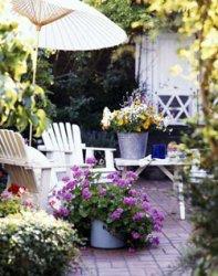 Патио около вашего загородного дома