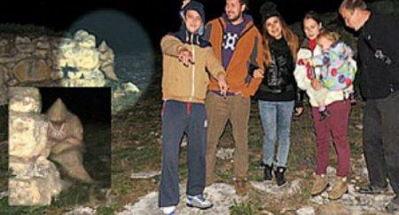 В Болгарии был сфотографирован монах-призрак